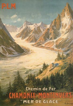 Chemin De Fer Chamonix-Montenvers by Bourgeois