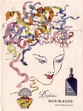 Bourjois Mais Oui, Womens, USA, 1930