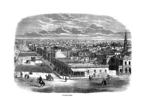 Bourke Street, Melbourne, Australia, 1863