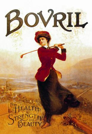 Bovril, For Health, Strength and Beauty