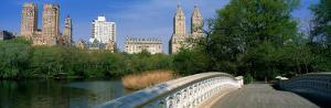 Bow Bridge, Central Park, New York City, New York State, USA
