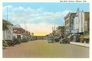 Box Butte Avenue, Alliance