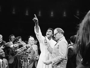 Boxer Cassius M. Clay, Aka Muhammad Ali, Proclaiming Himself the Greatest