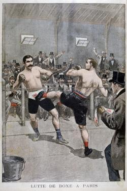 Boxing in Paris, 1899