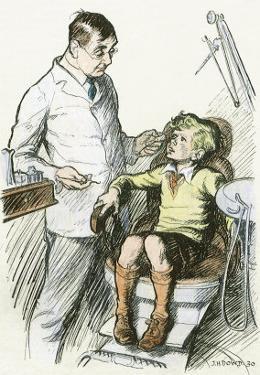 Boy at Dentist, 1930