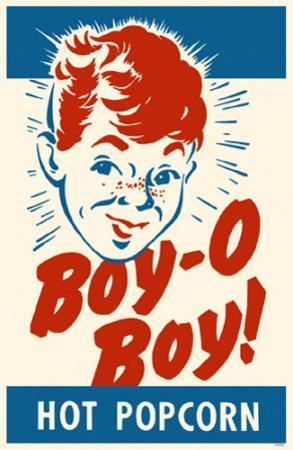 Boy O Boy Popcorn Box