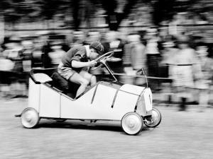 Boy Scouts Soap Box Derby, 1955
