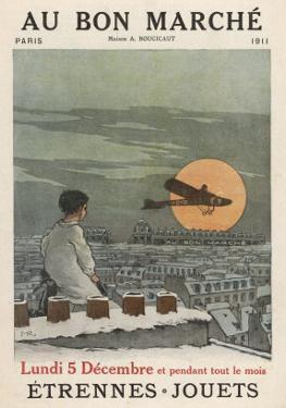 Boy Watches Plane 1911