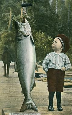 Boy with Taller Fish