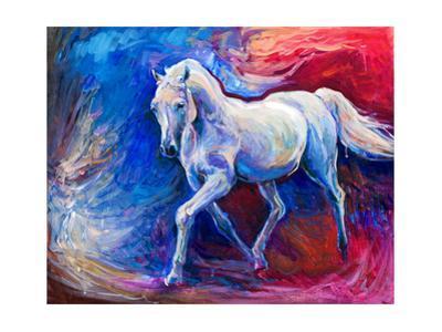 Blue Horse by Boyan Dimitrov