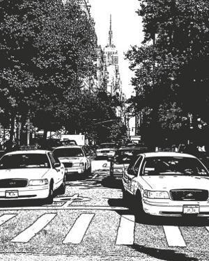 New York Minute I by Boyce Watt