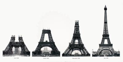 La Construction de la Tour Eiffel by Boyer Viollet