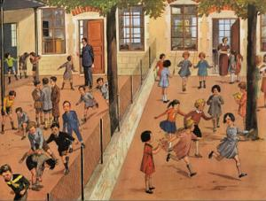 Boys and Girls Playgrounds