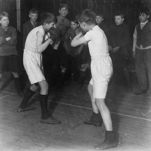 Boys Club Boxing Match, March 1929