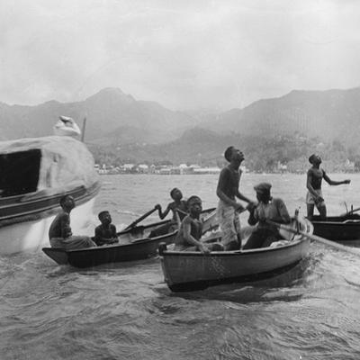 Boys Diving, St Vincent, 1931