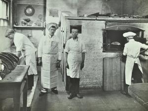 Boys Making Bread at Upton House Truant School, Hackney, London, 1908