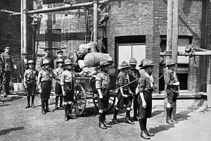 Boys Scouts at the Outbreak of World War I