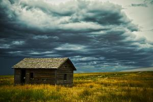 An Abandoned Building in Pawnee National Grasslands Near Fort Collins, Colorado by Brad Beck