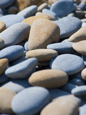 Olympic National Park, Wa: Blue and Brown Stones Found on Ruby Beach by Brad Beck