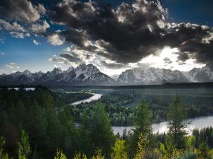 Snake River, Grand Teton National Park, Wyoming by Brad Beck