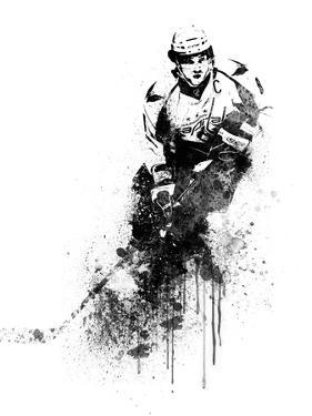 Alexander Ovechkin Watercolor by Brad Dillon
