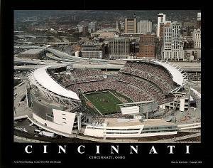 Cincinnati Bengals Paul Brown Stadium Sports by Brad Geller