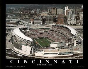 Cincinnati Bengals - Paul Brown Stadium by Brad Geller