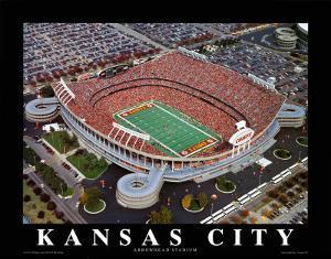 Kansas City Chiefs - Arrowhead Stadium by Brad Geller