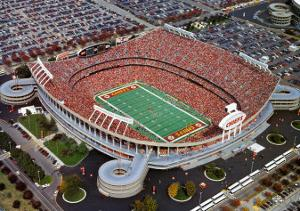 Kansas City Chiefs - Arrowhead Stadium by Brad Geller