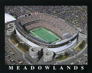 New York Jets Old Meadowlands Stadium by Brad Geller
