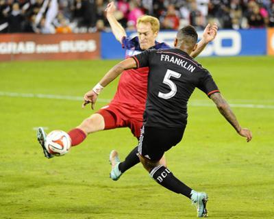 Oct 18, 2014 - MLS: Chicago Fire vs D.C. United - Jeff Larentowicz, Sean Franklin