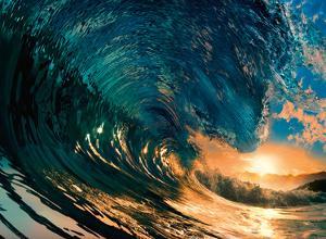 Morning Color - Hawaiian Wave by Bradberry