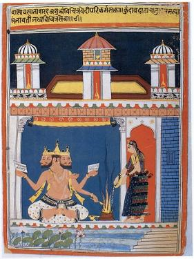 Brahma Receiving an Offering, after 18th Century
