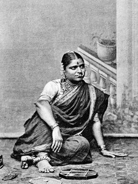 Brahmin Woman, India, 1917