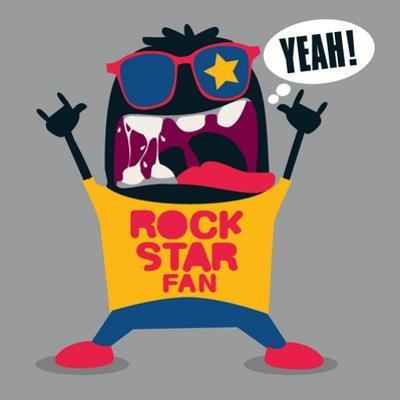 Rock Fan Monster by braingraph