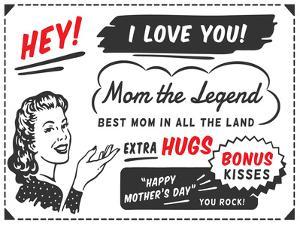 Mom The Legend by Brandi Fitzgerald