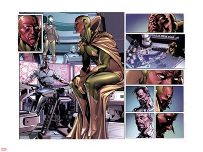 Avengers No.24.1: Vision and Tony Stark