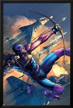 House Of M No.4 Cover: Hawkeye by Brandon Peterson