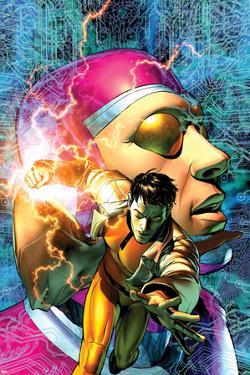 Marvel Comics Presents No.8 Machine Man Cover: Machine Man by Brandon Peterson