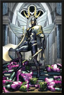 Secret Invasion: War Of Kings No.1 Cover: Black Bolt by Brandon Peterson
