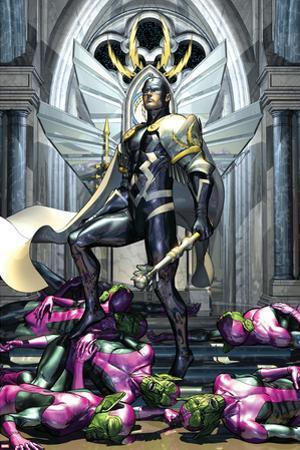 Secret Invasion: War Of Kings No.1 Cover: Black Bolt