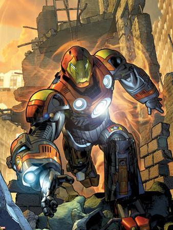 Ultimate Comics Armor Wars No.1 Cover: Iron Man
