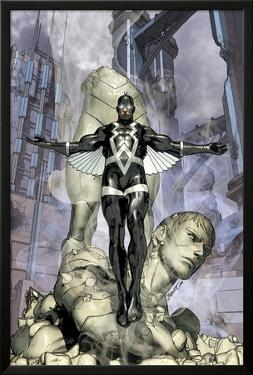 War of Kings No.4 Cover: Black Bolt by Brandon Peterson