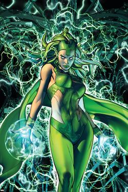 X-Men: Kingbreaker #3 Cover Featuring Polaris by Brandon Peterson