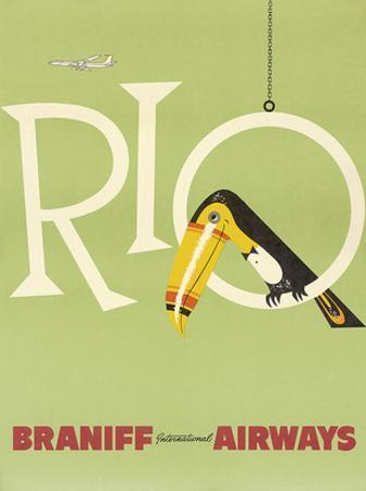 Braniff Air Rio c.1960s