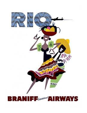 Braniff International Airways, Rio