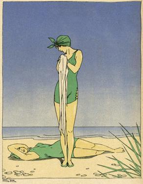 Bathing Beauties 1914 by Brasch Sven Brasch