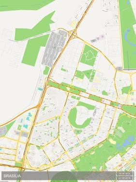 Brasilia, Brazil Map