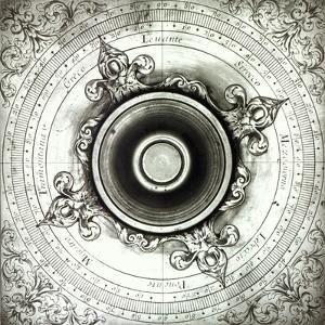 Brass Wind Compass, by Jacobus Lusuerg, Rome, 1687