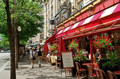 Brasserie La Taverne on Boulevard des Italiens, Paris, Ile de France, France